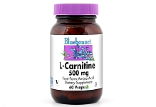 Bluebonnet L-Carnitine 500 mg 60 Capsules