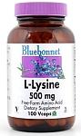 Bluebonnet L-Lysine 500 mg 50 Vcaps