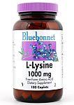 Bluebonnet L-Lysine 1,000 mg 100 Caplets