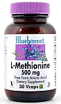 Bluebonnet L-Methionine 500 mg 30 Capsules