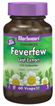 Bluebonnet Standardized Feverfew Leaf Extract 60 Vcaps