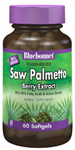 Bluebonnet Standardized Saw Palmetto Berry Extract  160 mg 60 Softgels