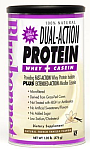 Bluebonnet Dual Action Protein Powder Natural Vanilla Flavor 1.05 lbs (476 g)
