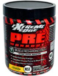 Extreme Edge Pre-Workout Muscle Recharging Stack Lemon Flavor 0.66 Ounces (300 g)