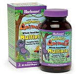 Bluebonnet Super Earth Rainforest Animalz® Whole Food Based Multiple 90 Chewables