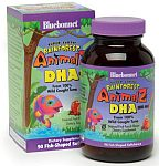 Bluebonnet Super Earth Rainforest Animalz® DHA 100 mg 90 Fish Shaped Softchews