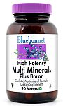Bluebonnet Multi Minerals Plus Boron (Iron-Free) 180 Capsules
