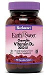 Bluebonnet EarthSweet® Chewable Vitamin D3 2,000 IU 90 Tablets