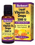 Bluebonnet Vitamin D3 Drops 2,000 IU 1 Ounce