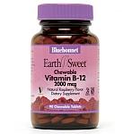 Bluebonnet EarthSweet® Chewable Vitamin B-12  2,000 mcg 90 Tablets