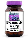 Bluebonnet Niacinamide 500 mg 60 Vcaps