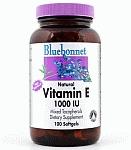 Bluebonnet Vitamin E 1,000 IU Mixed 100 Softgels