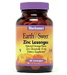 Bluebonnet EarthSweet® Zinc Lozenges 15 mg 60 Orange Lozenges