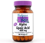 Bluebonnet Alpha Lipoic Acid 600mg 30 Vcaps