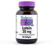 Bluebonnet Lutein 20mg  60 Softgels