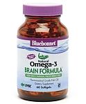 Bluebonnet EPAX Omega-3 1,000 mg Brain Formula 60 Softgels