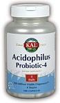 KAL  Acidophilus Probiotic   100 Capsules