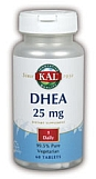 KAL  DHEA  25mg   60 Tablets