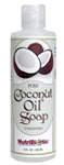 Nutribiotic® Coconut Oil Soap Unscented 8 oz (236 ml)