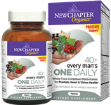 New Chapter Every Mans One Daily 40+  24 Tablets