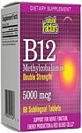 Natural Factors B12 5,000 mcg 60 Sublingual Tablets