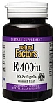Natural Factors Vitamin E 400 IU Mixed D-Alpha Tocopherol