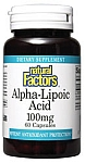 Natural Factors Alpha Lipoic Acid