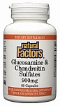 Natural Factors Glucosamine 500mg/Chondroitin 400mg