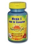 Natures Life®  Mega E-400 Complex  50 Softgels