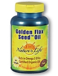 Natures Life® Golden Flax Seed Oil 180 Softgels