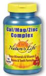 Natures Life® Cal/Mag/Zinc Complex 100 Capsules