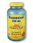 Natures Life® Magnesium 500 mg 100 Capsules