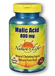 Natures Life® Malic Acid 800 mg 100 Capsules