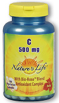 Natures Life® Vitamin C 500 mg 100 Capsules
