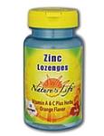 Natures Life  Zinc Lozenges  25 Lozenges