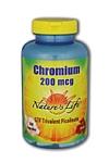 Natures Life  Chromium 200 mcg 250 Capsules