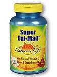 Natures Life  Natures Life  Super Cal-Mag 250 Tablets