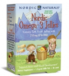 Nordic Naturals Omega-3 Jellies 36 Count