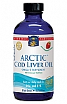 Nordic Naturals ARCTIC Cod Liver Oil Strawberry Flavor 8 fl oz