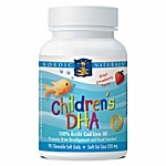 Nordic Naturals Childrens DHA  250mg  90 Chewable Softgels