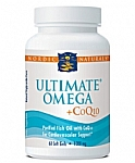Nordic Naturals Ultimate Omega + CoQ10 1000 mg 60 Softgels