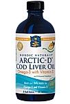 Nordic Naturals ARCTIC-D Cod Liver Oil Lemon Flavor 8 fl oz