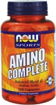 NOW Foods Amino Complete 120 Capsules