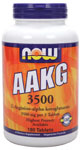 NOW Foods AAKG 3500 180 Tablets