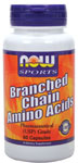 NOW Foods Branched Chain Amino Acids 800 mg 60 Capsules