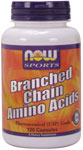 NOW Foods Branched  Chain Amino Acids 800 mg 120 Capsules