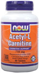 NOW Foods Acetyl-L Carnitine 750 mg 90 Tablets