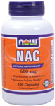 NOW Foods NAC 600 mg 100 Capsules
