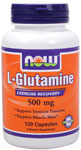 NOW Foods L-Glutamine 500 mg 120 Capsules