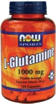 NOW Foods L-Glutamine 1,000 mg 120 Capsules
